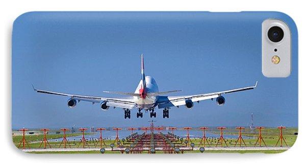 Aeroplane Landing, Canada Phone Case by David Nunuk