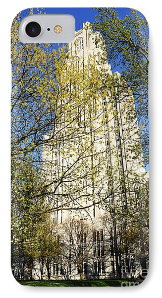 Cathedral Of Learning Phone Case by Thomas R Fletcher