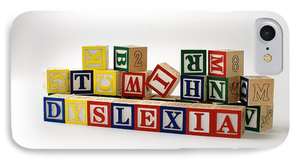 Dyslexia Phone Case by Photo Researchers, Inc.