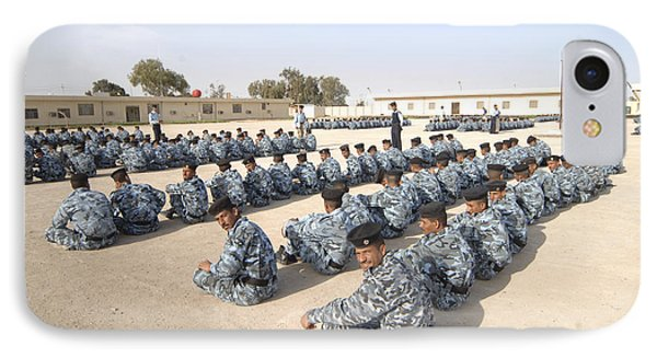 Iraqi Police Cadets Being Trained Phone Case by Andrew Chittock