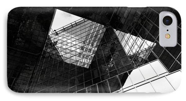London Southbank Abstract Phone Case by David Pyatt