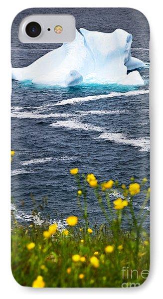 Melting Iceberg Phone Case by Elena Elisseeva