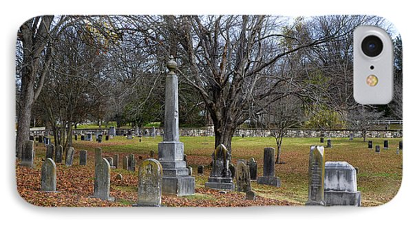 Pleasant Forest Cemetery Phone Case by Paul Mashburn