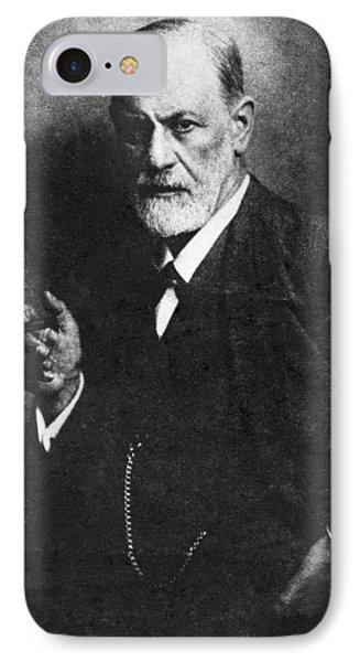 Sigmund Freud, Austrian Psychologist IPhone Case by Humanities & Social Sciences Librarynew York Public Library