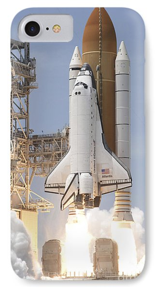 Space Shuttle Atlantis Twin Solid Phone Case by Stocktrek Images