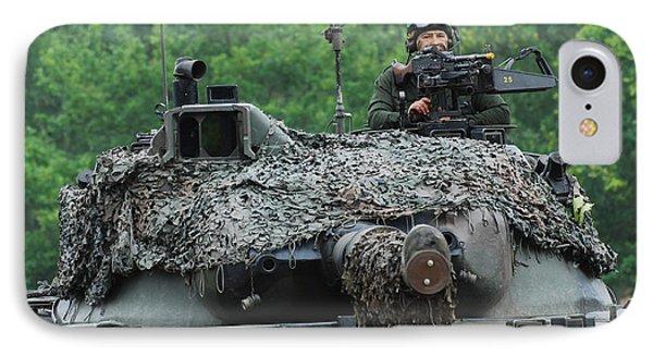 The Leopard 1a5 Main Battle Tank Phone Case by Luc De Jaeger