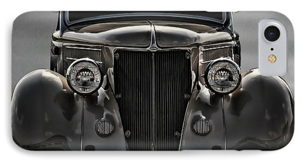 '36 Ford Convertible Coupe IPhone Case by Douglas Pittman