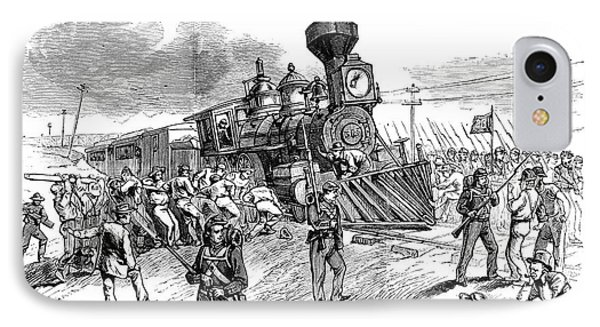 Great Railroad Strike, 1877 Phone Case by Granger