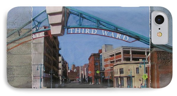 3rd Ward Entry Layered IPhone Case by Anita Burgermeister