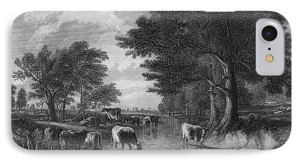 Cattle, 19th Century Phone Case by Granger