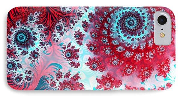 Julia Fractal IPhone Case by Laguna Design