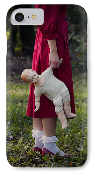 Old Doll Phone Case by Joana Kruse