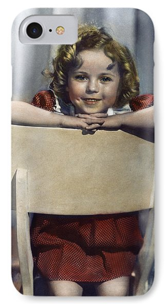 Shirley Temple (1928- ) IPhone Case by Granger
