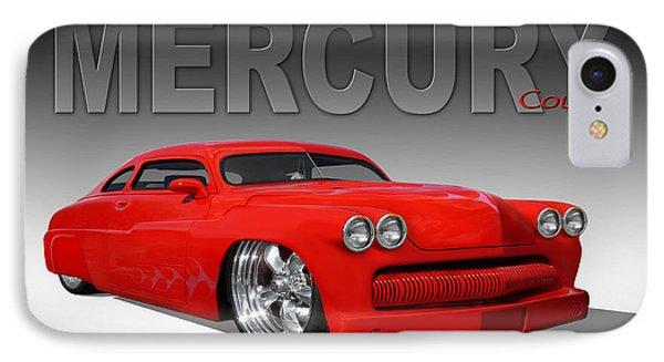 49 Mercury Coupe Phone Case by Mike McGlothlen