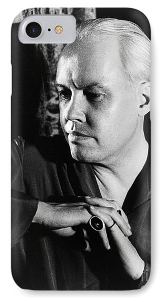 Carl Van Vechten (1880-1964) Phone Case by Granger
