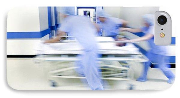 Emergency Hospital Treatment Phone Case by