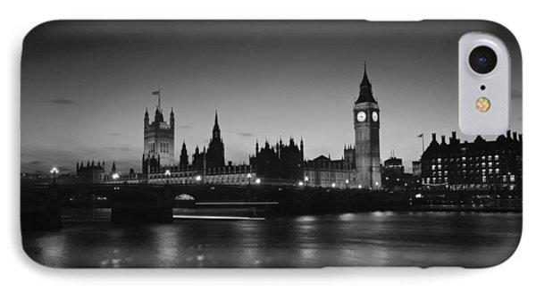 London  Skyline Big Ben Phone Case by David French