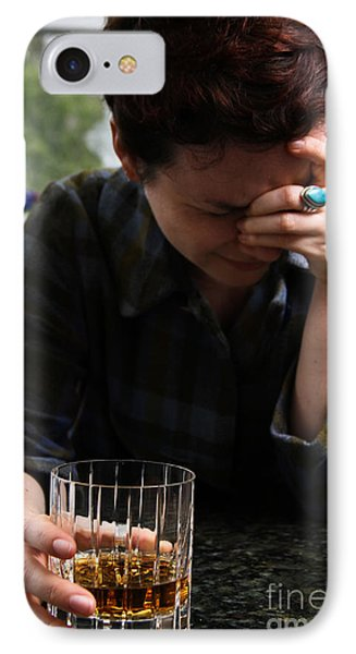 Depression And Addiction Phone Case by Photo Researchers, Inc.