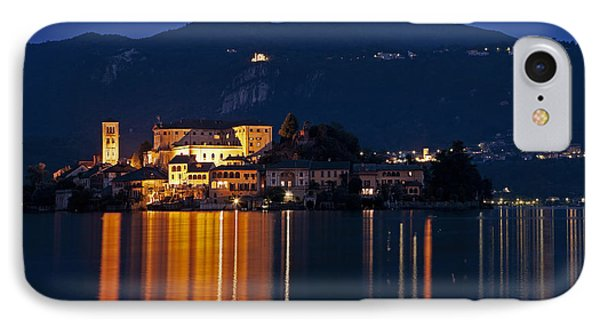 Island Of San Giulio Phone Case by Joana Kruse