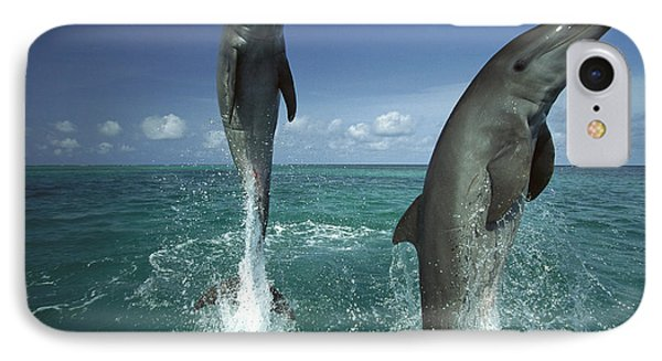 Bottlenose Dolphin Tursiops Truncatus Phone Case by Konrad Wothe