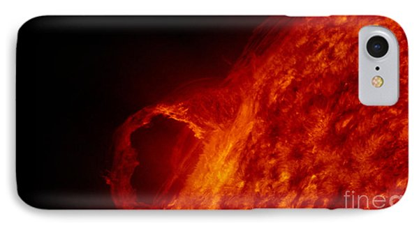 Solar Prominence IPhone Case by Science Source