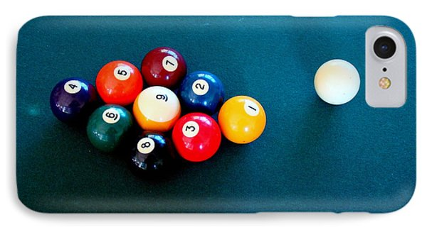 9 Ball Phone Case by Nick Kloepping