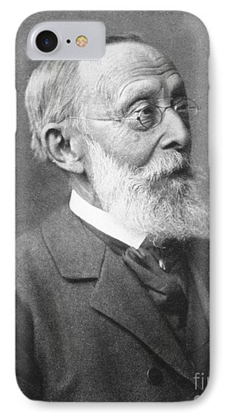 Rudolph Virchow, German Polymath IPhone Case by Science Source