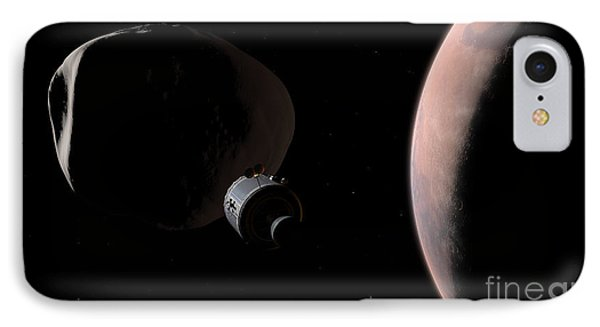 A Command Module Begins A Close Phone Case by Walter Myers