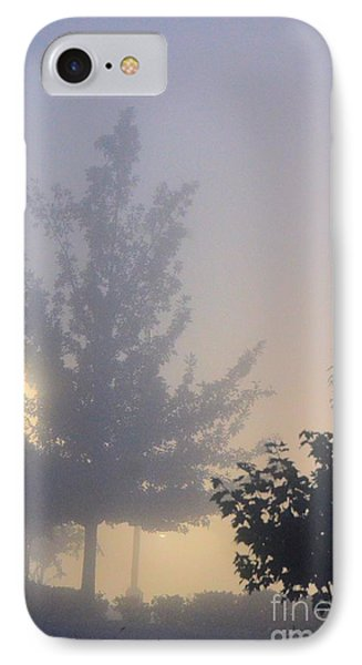 A Gothic Night's Stroll Phone Case by Maria Urso