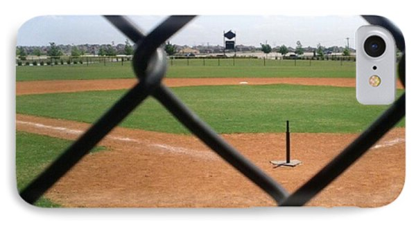A Great Day For Tball #sports #diamond Phone Case by Kel Hill