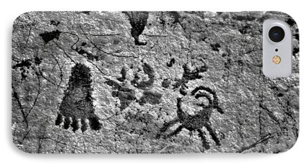 A Library Of Petroglyphs - Atlatl Rock Phone Case by Christine Till