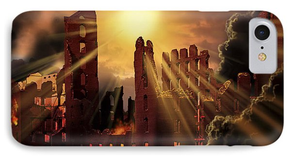 A Solar Flare, An Enormous Eruption Phone Case by Ron Miller