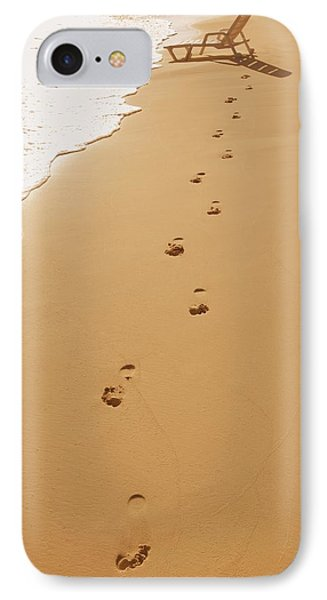 A Walk On The Beach Phone Case by Don Hammond