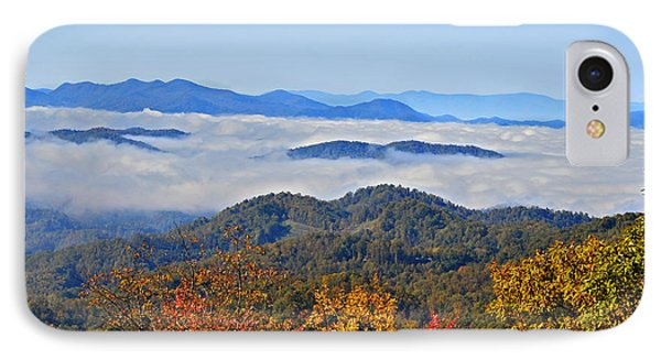 Above The Clouds Phone Case by Susan Leggett