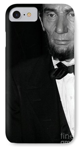 Abraham Lincoln IPhone Case by Sophie Vigneault