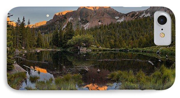 Absaroka Range Reflection IPhone Case by Leland D Howard