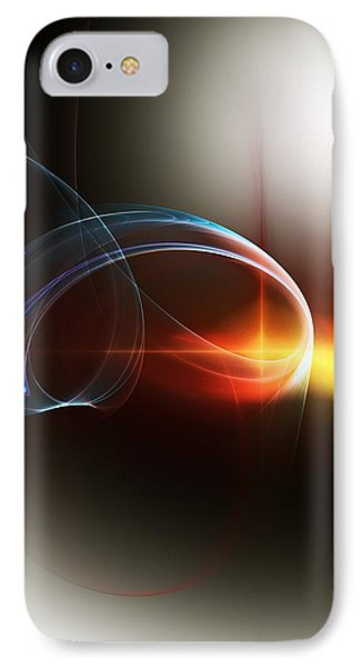 Abstract 101311c Phone Case by David Lane