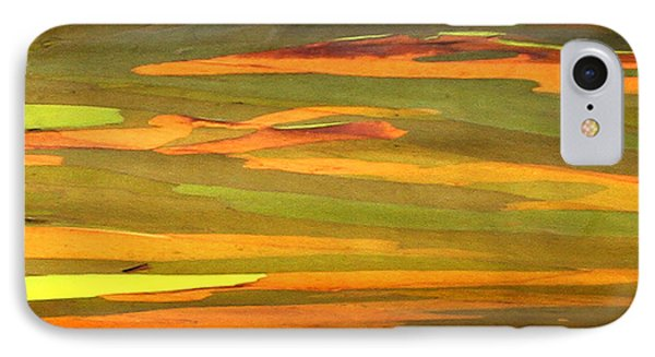 Abstract Eucalyptus 2 IPhone Case by Marilyn Hunt