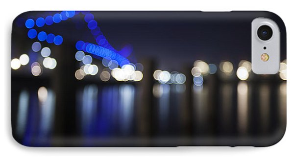 Abstract Vincent Thomas Bridge Phone Case by Mike Raabe