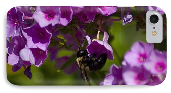 Acrobatic Bee Phone Case by Sven Brogren