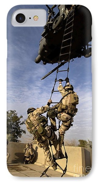 Air Force Pararescuemen Are Extracted Phone Case by Stocktrek Images