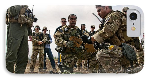 Airmen Explain Their Evidence Gathering Phone Case by Stocktrek Images