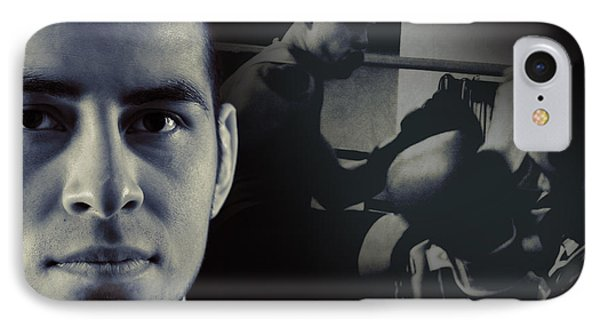 Alain Hernandez Mixed Martial Artist Phone Case by Lisa Knechtel