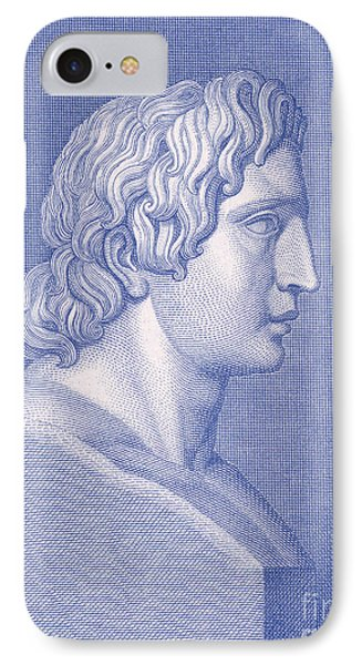 Alexander The Great, Greek King IPhone Case by Photo Researchers