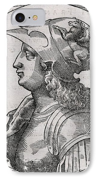 Alexander The Great, King Of Macedon IPhone Case by Middle Temple Library