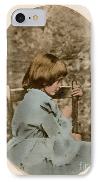 Alice Liddell, Alices Adventures Phone Case by Science Source