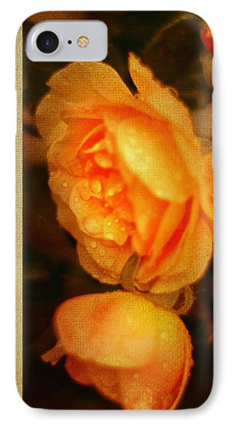 Amber Queen Rose Phone Case by Jenny Rainbow
