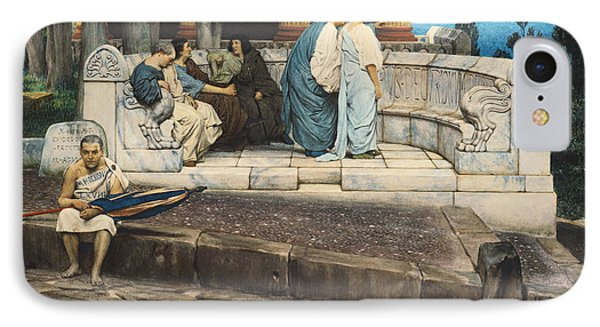 An Exedra IPhone Case by Sir Lawrence Alma-Tadema