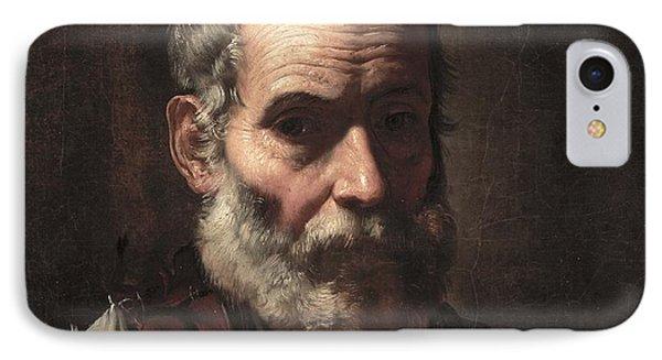An Old Man Phone Case by Jusepe de Ribera