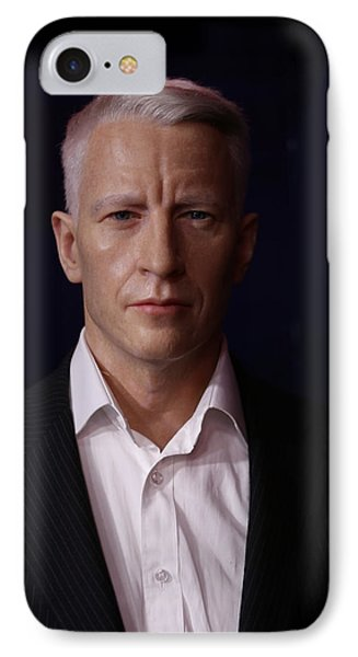 Anderson Hays Cooper - Cnn - Anchor - News Phone Case by Lee Dos Santos